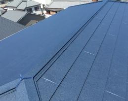 ガルバリウム鋼板屋根材・SGL鋼板屋根材写真