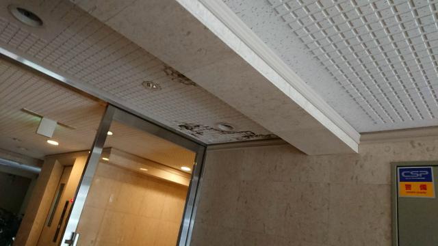 玄関の天井雨漏り