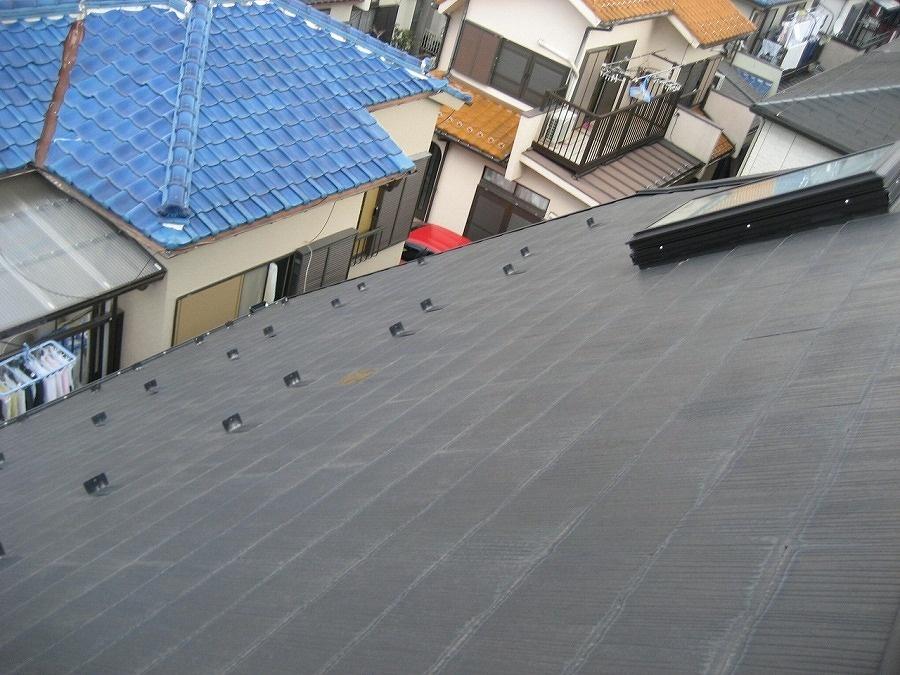 春日部市の平屋根写真