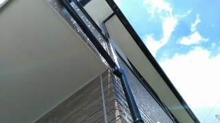 鴻巣市で雨樋工事