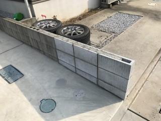 ブロック塀 施工後