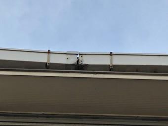 屋根樋つなぎ目