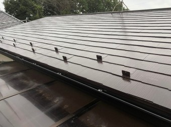 屋根 遮熱 完工