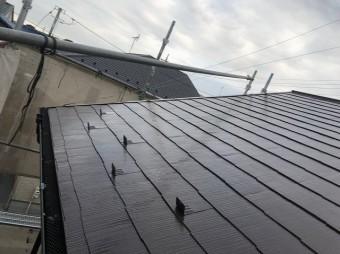 屋根 塗装 完工