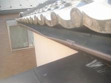 上尾市で屋根と雨樋と外壁の現場調査