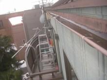 上尾市で外壁と雨樋の現場調査