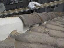 上尾市で屋根瓦積み直しの施工事例