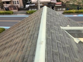 上尾市で歯医者の屋根の現場調査