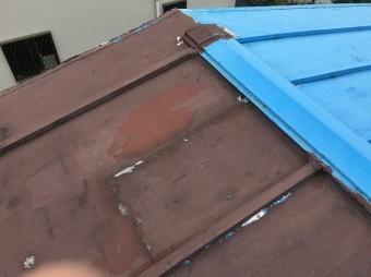 桶川市で屋根工事の現場調査