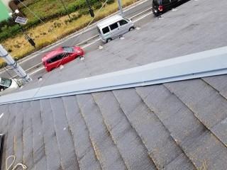 上尾市で屋根棟の施工事例