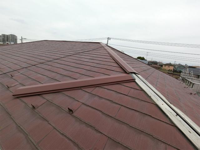 屋根板金剥がれ