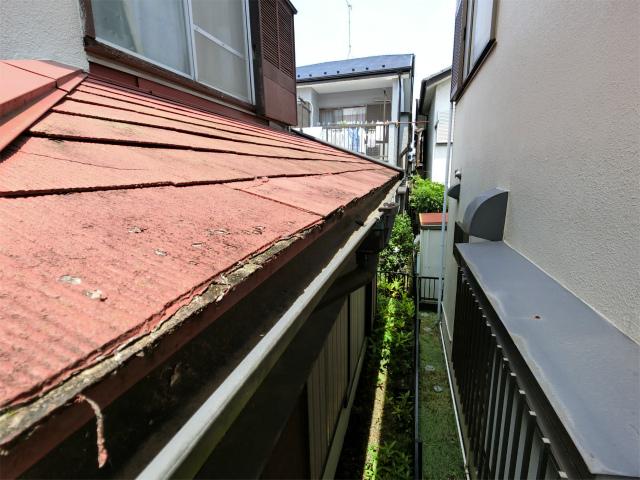 屋根板の劣化
