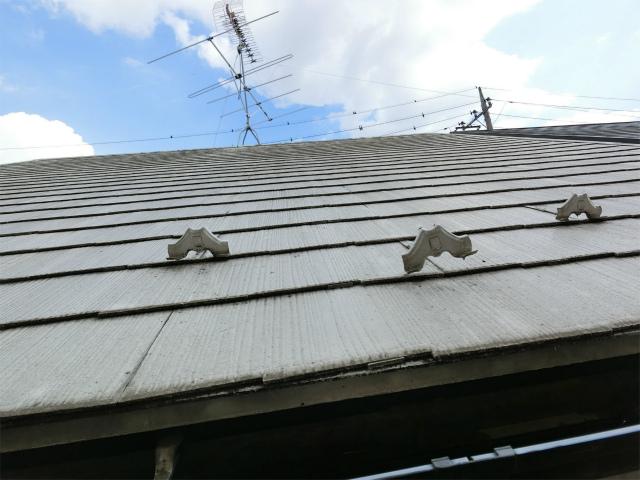 屋根雪止めの浮き