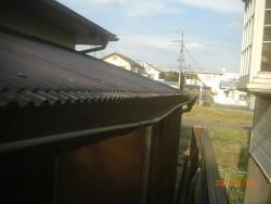 川越市の雨樋 施工前