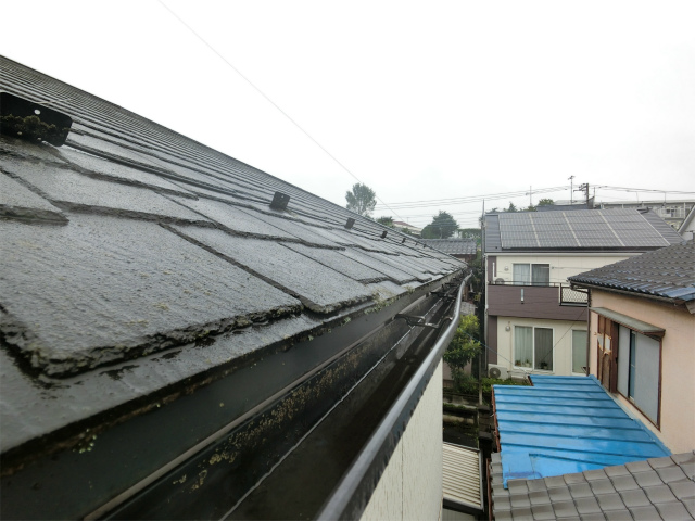 雨樋の歪み