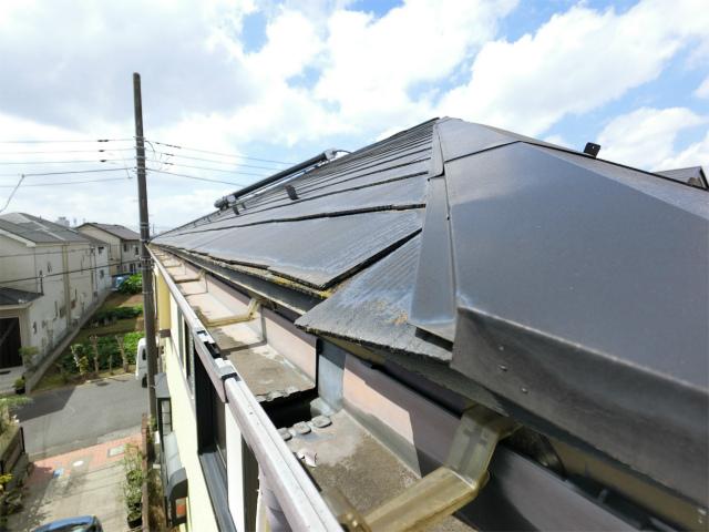 屋根板のずれ
