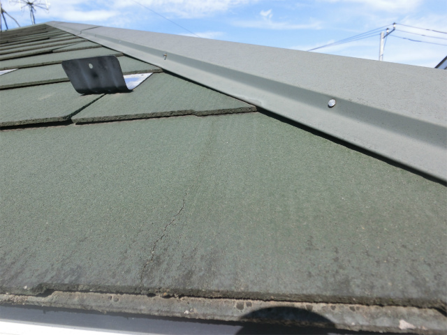 屋根クラック