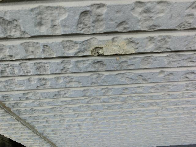 上尾市で瓦屋根の漆喰の劣化、外壁の目地剥がれ等あり調査です