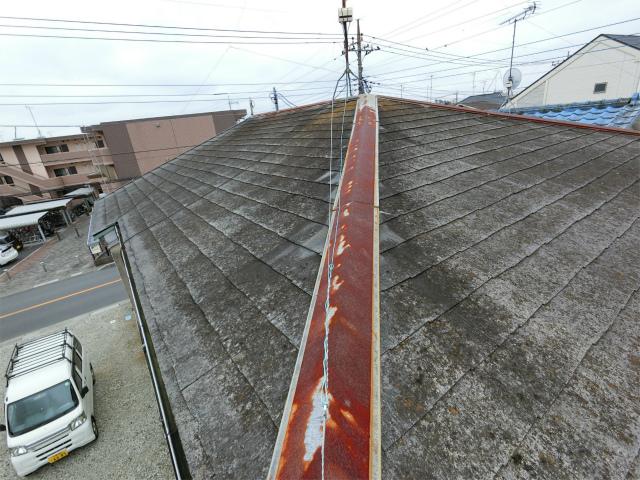 屋根板金の劣化