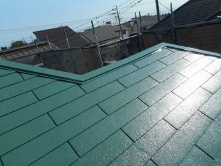 屋根塗装 完了写真