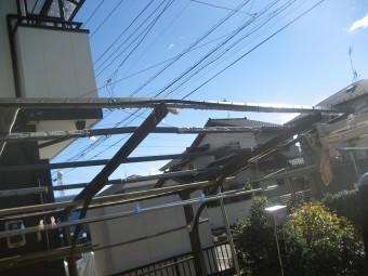 川越市でカーポートの屋根