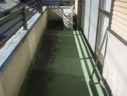 川越市でベランダの防水塗装工事