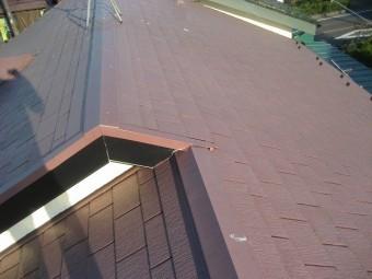 上尾市で屋根の現場調査