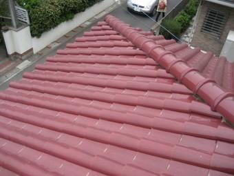 桶川市での現場調査依頼の屋根の様子