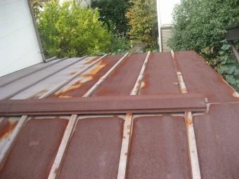 緑区で屋根の現場調査