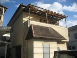 川越市でトタン屋根の施工事例