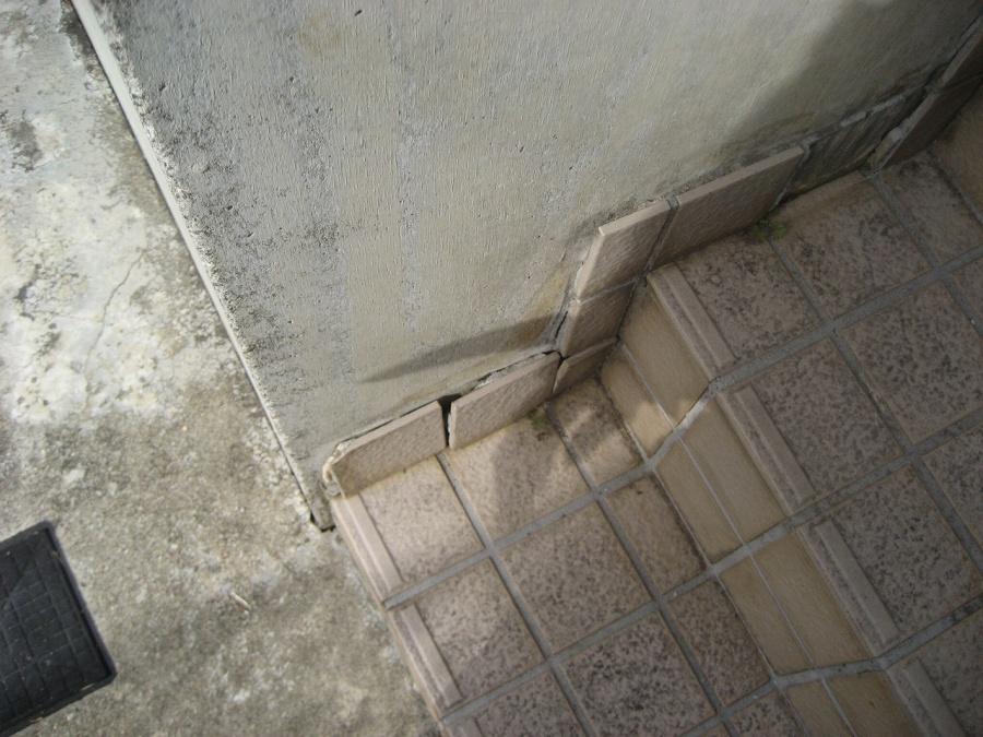 川口市 階段タイル 写真