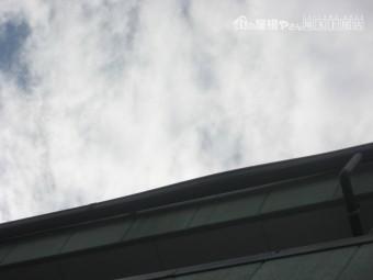 川越市で雨樋歪み写真