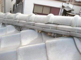 越谷市で屋根の現場調査