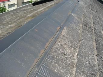 日高市の屋根棟板金の写真