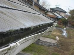川島町で雨樋工事