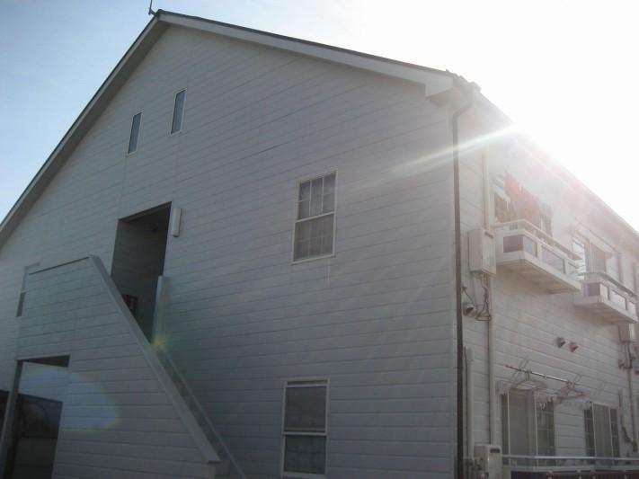 川越市のアパート 現場調査写真