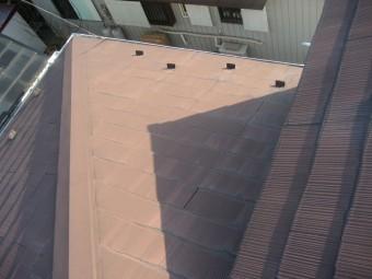 熊谷市 スレート屋根 浮き