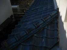 川越市 瓦屋根漆喰剥がれ