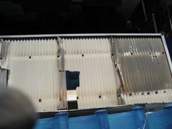 川越市トタン屋根 破損