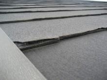 スレート屋根 割れ写真