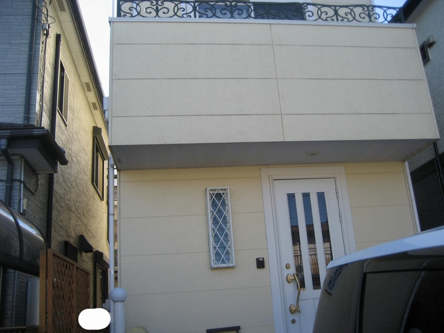 外壁施工前の写真