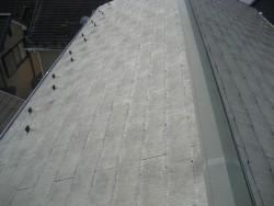 見沼区で屋根の色あせ