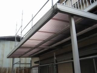 羽生市 トタン屋根