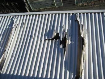 熊谷市 トタン屋根②