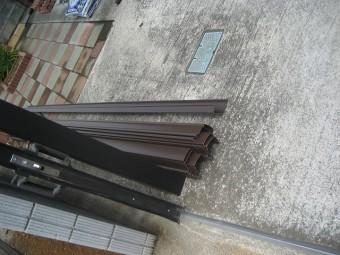 羽生市で新しい雨樋の設置