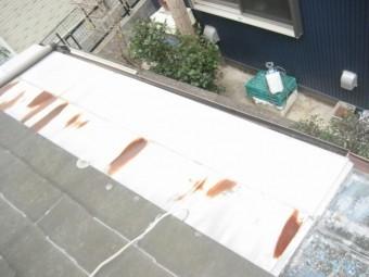 屋根板金 サビ
