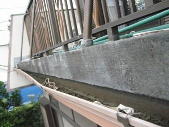 瑞穂町で雨樋の現場調査