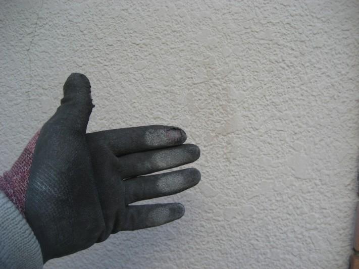 桶川市 外壁チョーキング