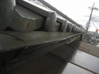雨樋の損傷