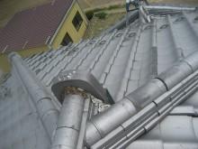 深谷市屋根棟漆喰